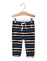 GAP Baby Multi Colour Stripe Pull On Pants