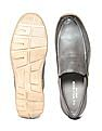 U.S. Polo Assn. Burnished Leather Slip-On Shoes