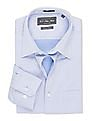 USPA Tailored Tailored Fit French Placket Shirt